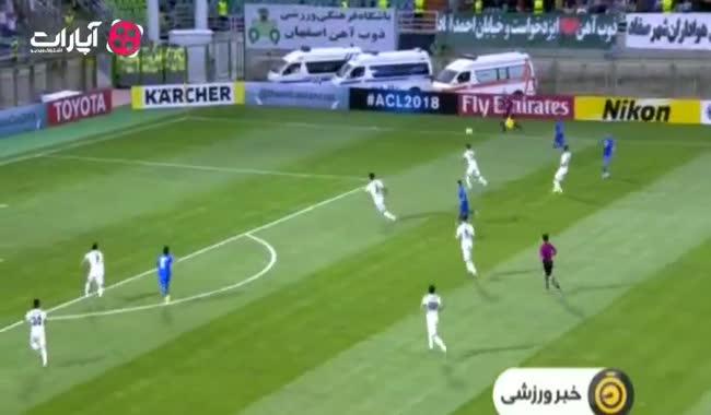 حواشی دیدار ذوب آهن-استقلال در لیگ قهرمانان آسیا