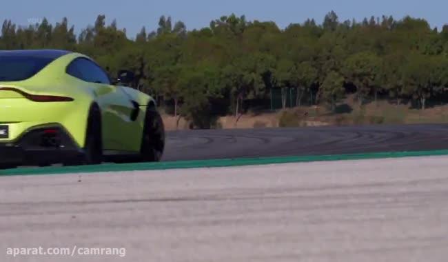 نگاهی به خودرو Aston Martin V8 Vantage مدل 2018