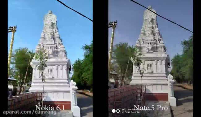 مقایسه دوربین Redmi Note 5 Pro با نسخه جدید نوکیا 6
