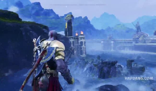 زیبایی بازی God of War 4 را در این ویدیو ببینید FullHD
