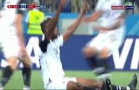 فیلم گل اول کاستاریکا به سوئیس در جام جهانی 2018