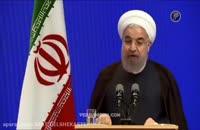 تیکه انداختن روحانی به احمدی نژاد درباره پاره کردن قطع نامه ها