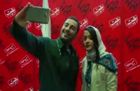 نوید محمدزاده در اکران مردمی فیلم خفه گی