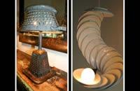 35 ایده جالب برای طراحی لامپ