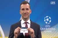 مراسم قرعه کشی لیگ قهرمانان اروپا مرحله نیمه نهایی