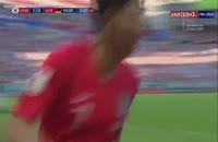 گل دوم کره جنوبی به آلمان در جام جهانی 2018