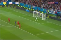 گل دوم ژاپن به بلژیک - شوت دیدنی تاکاشی اینوی