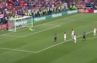 فیلم گل چهارم فرانسه به کرواسی در فینال جام جهانی 2018