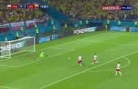 فیلم گل سوم کلمبیا به لهستان در جام جهانی 2018