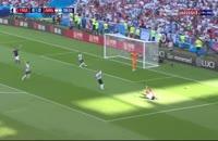 گل اول فرانسه به آرژانتین از روی نقطه پنالتی - گریزمان