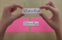 056034 - کاردستی سری اول: پروانه کاغذی