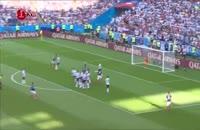 آنالیز عملکرد دو تیم فرانسه آرژانتین در جام جهانی روسیه