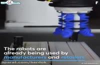 رباتها در صنعت بسته بندی و تولید