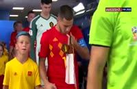 عملکرد ادن عملکرد ادن هازارد (بلژیک) در بازی با فرانسه