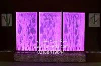 استفاده از حباب نما، ابنمای شیشه ای مدرن ریتمیک و موزیکال در دکوراسیون لابی