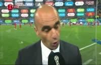 مصاحبه سرمربی بلژیک پس از شکست برابر تیم ملی فرانسه
