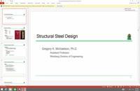 042053 - طراحی سازه فولادی سری دوم