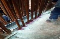 کاشت شیمیایی میلگرد انتظار دیوار برشی
