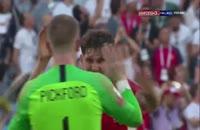 فیلم واکنشهای بازیکنان و هواداران بعد از بازی سوئد و انگلیس