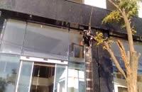 شستشوی نما-آذرخش ساختمان کهن