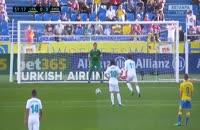 خلاصه بازی لاس پال ماس رئال مادرید 0-3