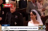 مراسم ازدواج پرنس هری و مگان مارکل