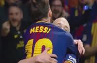 خلاصه بازی بارسلونا سویا 5-0 (فینال جام حذفی اسپانیا 2017/2018)
