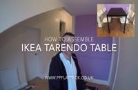 نحوه مونتاژ میز TARENDO ایکیا