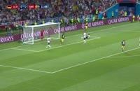 فیلم گل اول سوئد به آلمان در جام جهانی 2018