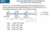 002011 - مقاومت مصالح