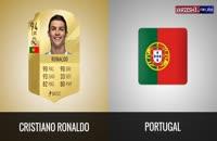 بازیکن برتر هر تیم در جامجهانی از دید بازی FIFA18