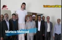 ۱۰ تا از قد بلندترین آدم های جهان