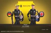 گیم پلی جدید از بازی F1-2017