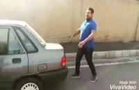 ملیکا تهامی از ماشینش سیر شده