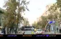 وضعیت نگران کننده ی درختان چنار خیابان ولیعصر تهران