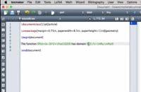 012014 - آموزش نرم افزار LaTeX سری اول