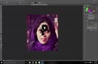 آموزش ساخت بافت در عکس و ساخت کاور در فتوشاپ
