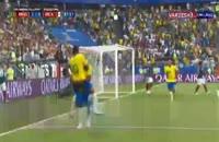گل دوم برزیل به مکزیک - فیرمینو