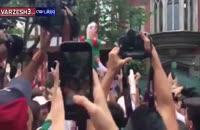 صحنه شادی مکزیکی ها با سفیر کره جنوبی در کشور مکزیک