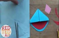 آموزش مرحله به مرحله ساخت اوریگامی در wWw.118File.com