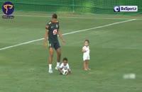 دختر مارسلو تمرین برزیل را بهم ریختند!