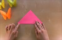 056032 - کاردستی سری اول: پروانه کاغذی