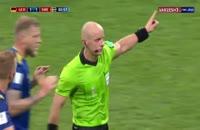 فیلم اخراج بواتنگ بازیکن آلمانی توسط ویدئوچک (VAR) در جام جهانی