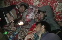 شماری از جوانان معتاد در نورستان