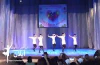 رقص زیبای آذربایجانی گروه آیلان در باتومی گرجستان و کسب مقام سوم