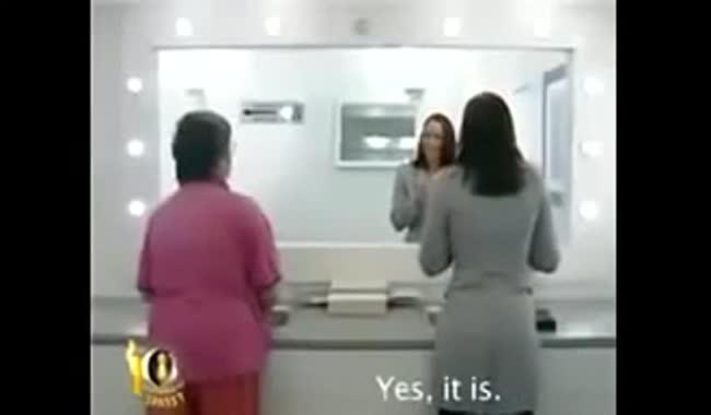 دوربین مخفی آینه وحشتناک!!!