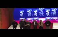 صحبت های هومن سیدی بعد از دریافت جایزه فیلم فجر