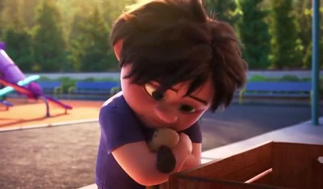 انیمیشن کوتاه و کمدی لو LOU 2017