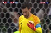 صحنه اشتباه عجیب لوریس و گل دوم کرواسی به فرانسه  - فینال جام جهانی 2018