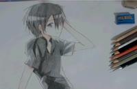 نقاشی من از کیریتو-انیمه Sword Art Online